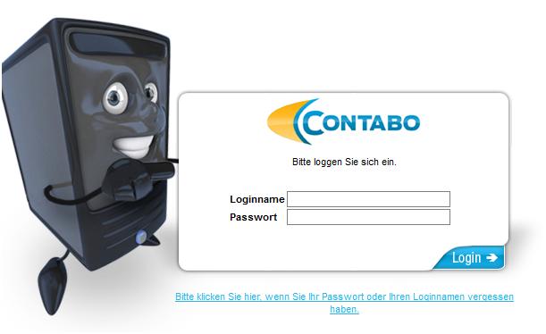 Contabo Kunden-Login