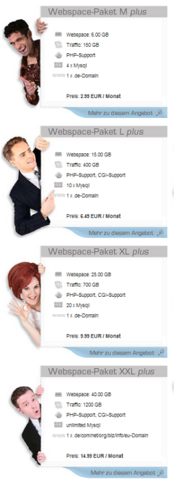 Contabo Webspace 2007