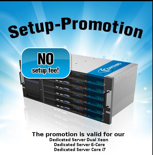 Server Setup Promotion