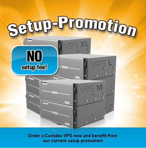 VPS without setup fee