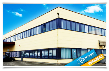 Exterior view of our data center in Nuremberg