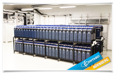 USV-Raum: Gedoppelter Batteriestrang