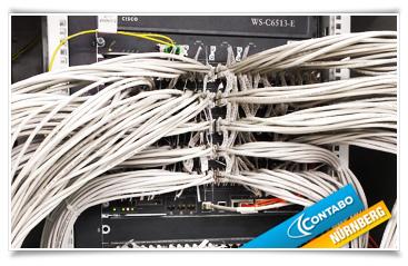 Einer von mehreren, redundant ausgelegten Core-Switches