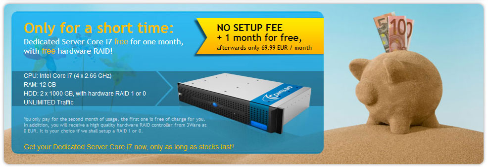 Contabo server 1 month for free