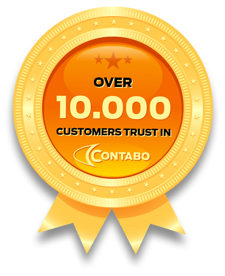 10.000 customers trust in Contabo