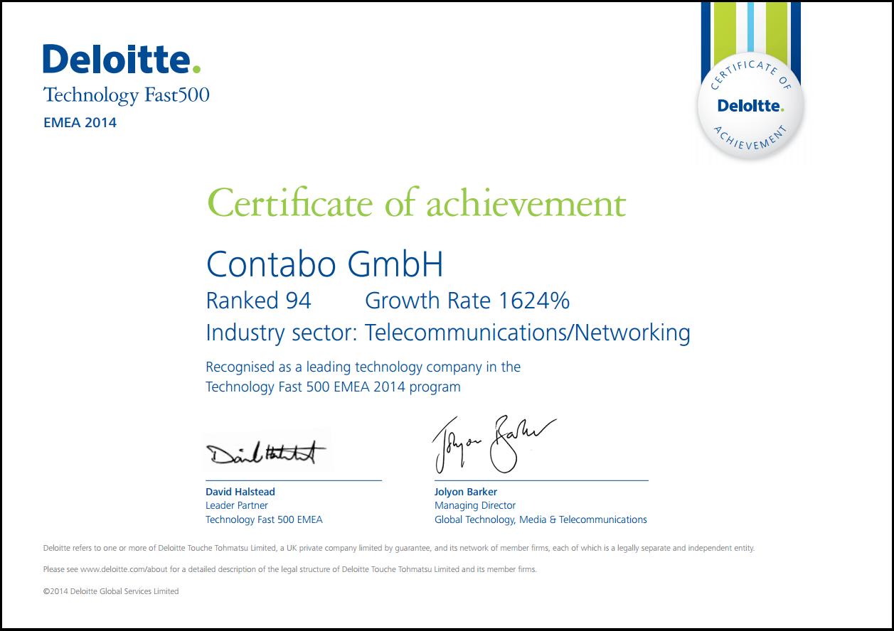 Deloitte Zertifikat
