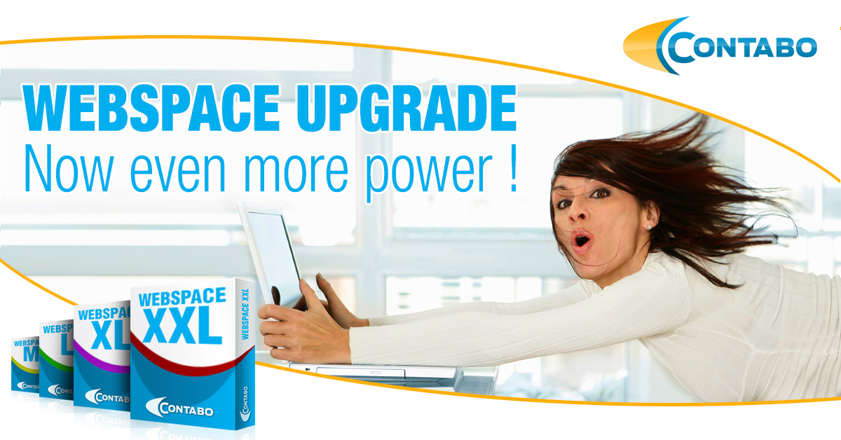 Webspace Upgrade