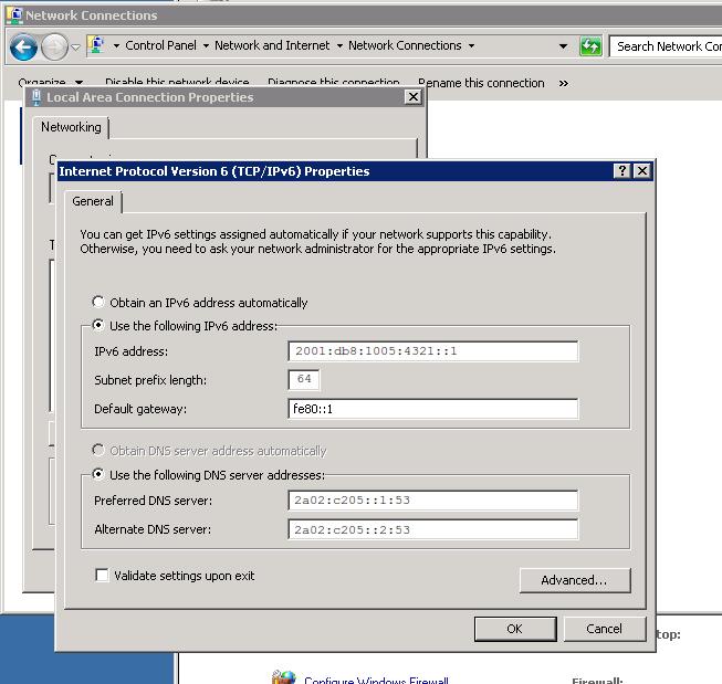 zuverlässige Qualität heiße Produkte niedrigster Rabatt Changing the IPv6 address used by your server   Official ...