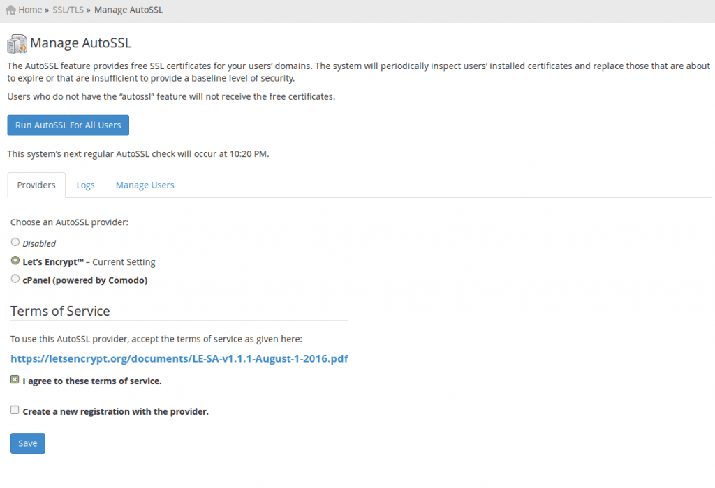 Das kostenlose SSL Zertifikat von Let\'s Encrypt!