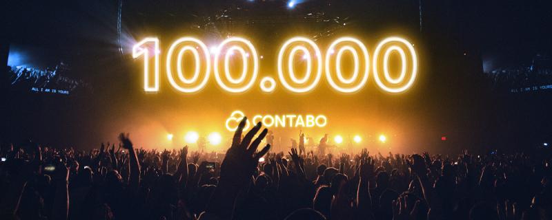 Contabo hat mehr als 100.000 Kunden