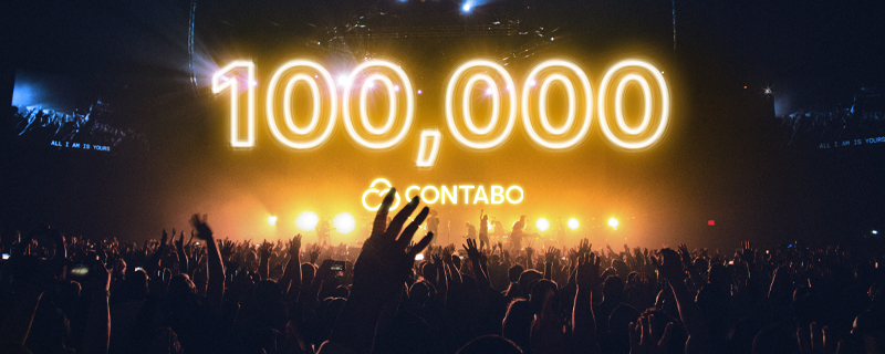 Contabo reaches 100,000 customers