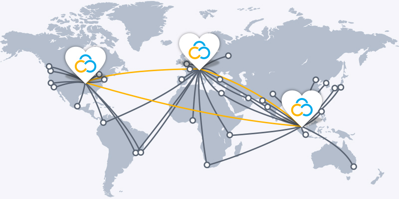 Contabo Data Center World Map